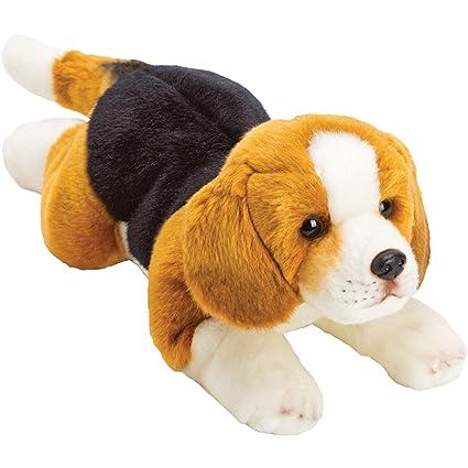 Para alguien muy especial – noche tiempo Cuddles etiqueta Resting Beagle Perro de peluche – Tamaño
