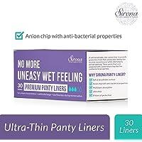 Sirona Ultra Thin Premium Regular Panty Liners - 30 Count