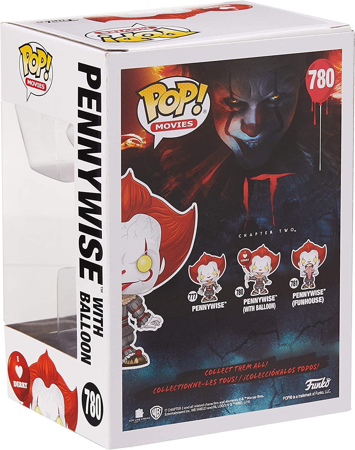 Pop! It Chapter 2 Pennywise Funhouse with Dog Tongue n°781 Funko