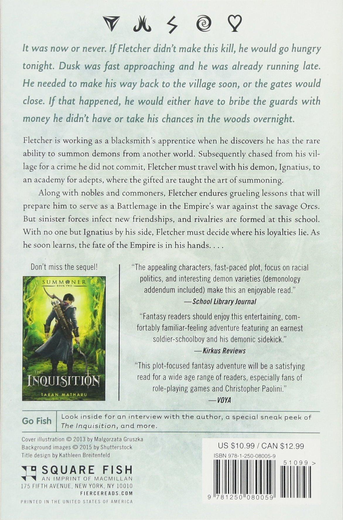 Amazon com: The Novice: Summoner: Book One (The Summoner