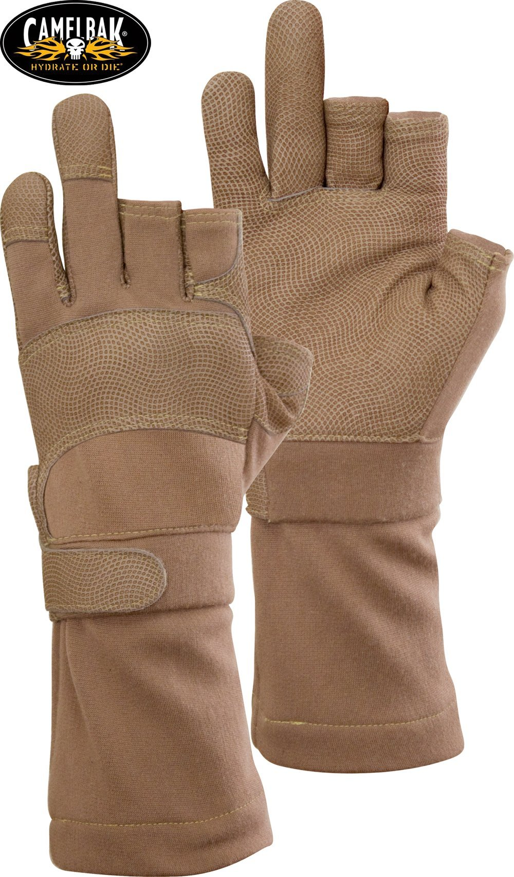 Gloves, Camelbak Max Grip MX3, DFAR, Desert Tan, Size M by CamelBak