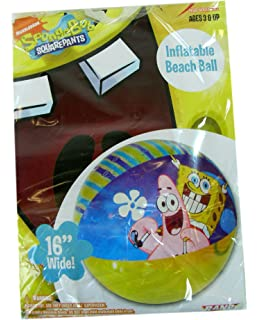 Amazon.com: Bob Esponja – Pelota de playa inflable 20
