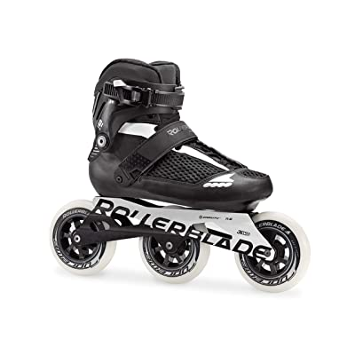 Rollerblade Endurace 110 Unisex Adult Fitness Inline Skate, Black and White, High Performance Inline Skates : Sports & Outdoors