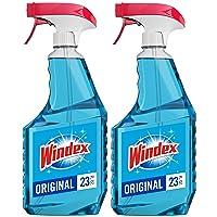 Deals on 2-Ct Windex Glass Cleaner Trigger Bottle, Original Blue 23-Oz