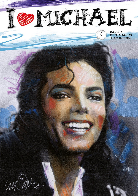 Imagicom IMACAL212 Calendario da Parete di Michael Jackson, Carta, Blu, 0,1x30,5x42.5 cm megacalendars