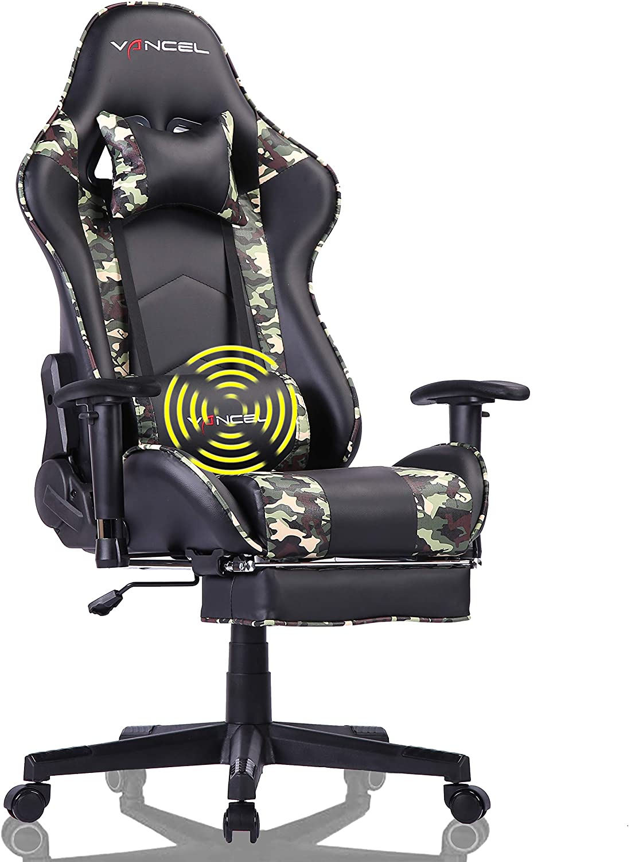 EAVANCEL Silla Gaming Sillones de Oficina Reclinable Ergonomica ...