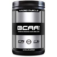 KAGED MUSCLE, Fermented BCAA Powder, Plant Based, Non-GMO, Supports Protein Synthesis...