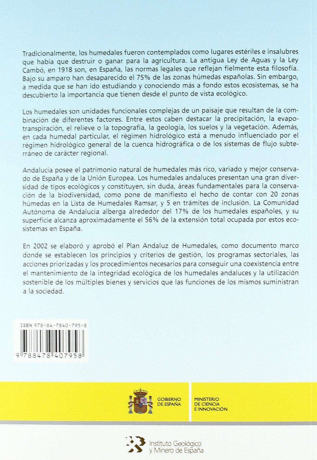 La geología e hidrogeología en la investigación de humedales: 28 ...