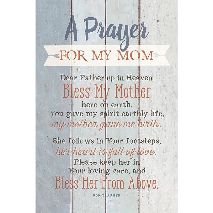 Amazon.com: Oración para mi mamá... Nuevos horizontes placa ...