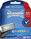 Wilkinson Sword Quattro Rasierklingen, 10 Stück