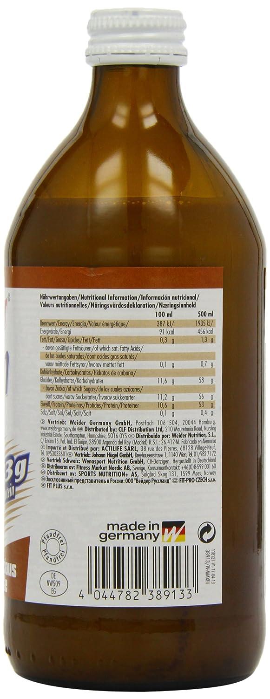 Weider Bebida Proteica Chocolate - 500 gr: Amazon.es: Salud y cuidado personal