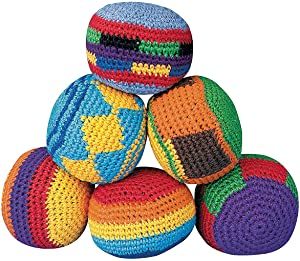Hackey Sacks Knitted Kick Balls (Pack of 12)