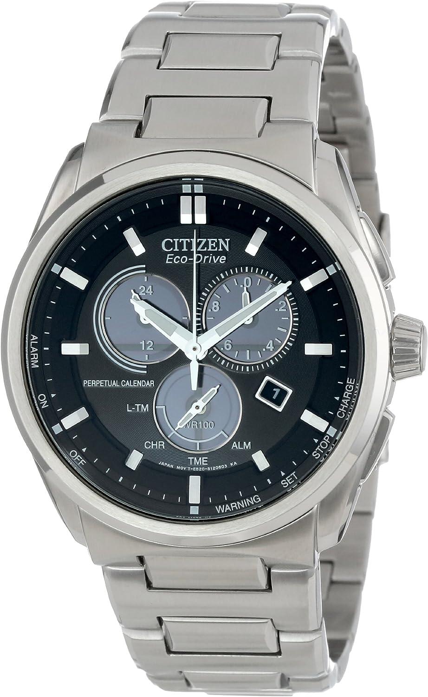 Citizen Men s BL5480-53E Eco-Drive Perpetual Calendar Chronograph Watch