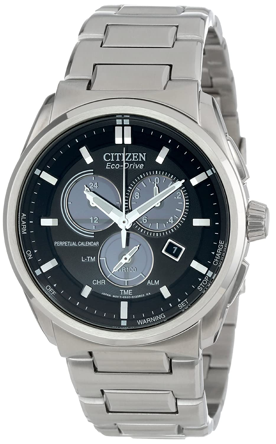 Citizen Men s BL5480-53E Eco-Drive Perpetual Calendar Chronograph Watch