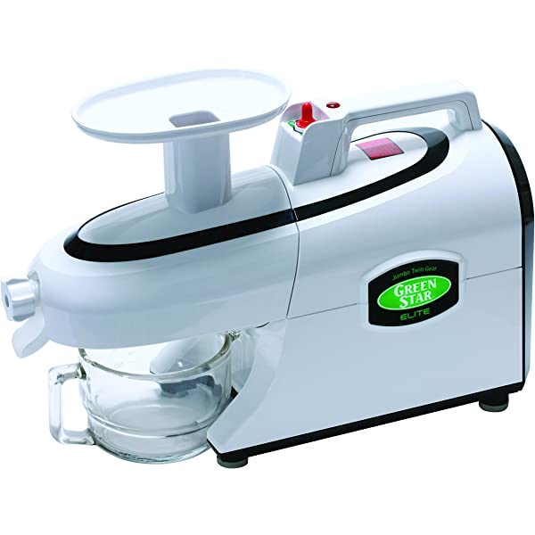 Extractor de zumo GreenStar Elite 5050 cromado: Amazon.es: Hogar