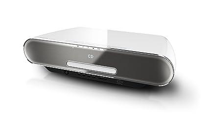 Panasonic SC-ALL7CDEGW Stilvolles HiFi (Multiroom, WiFi, Bluetooth,  Musik-Streaming, CD Player,UKW/DAB+, USB, 4 GB) weiß