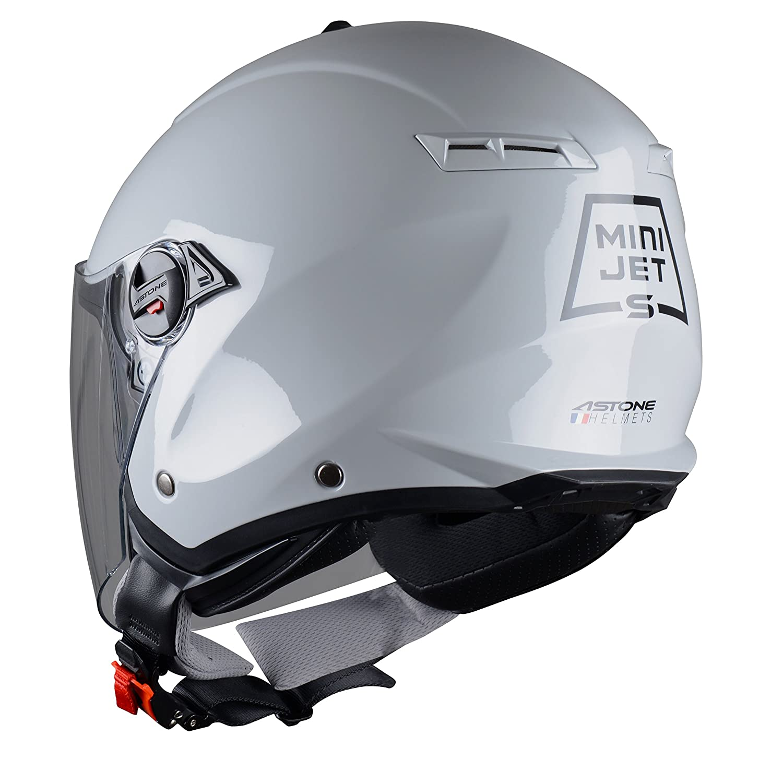 Casque compact Casque jet usage urbain MINIJET S monocolor- Casque jet Coque en polycarbonate Astone Helmets Army