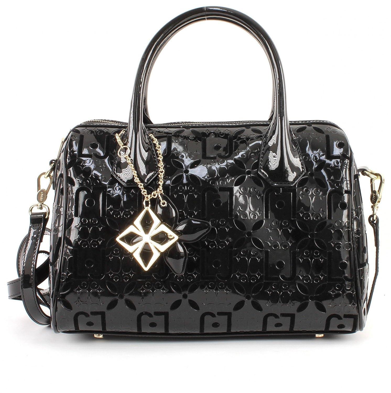 785484518f LIU JO Melanie Flocked Bauletto M Nero: Amazon.co.uk: Shoes & Bags