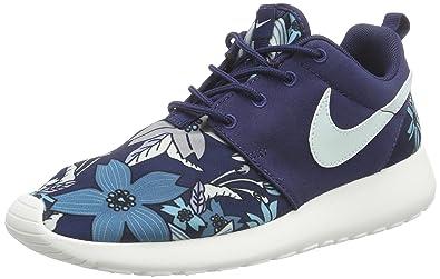 29bb955e08e4 official nike wmns nike roshe one print prem damen sneakers blau 431  midnight navy e9565 ebc9e