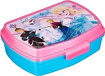 Disney - Caja de Almuerzo Frozen Elsa y Anna, 17 x 13.5 x 5.5 cm ...