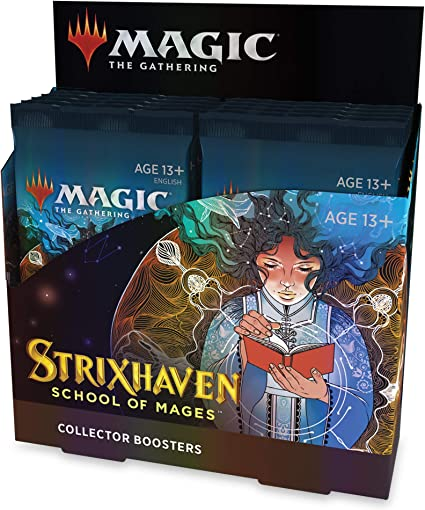 Amazon.com: Magic The Gathering Strixhaven Collector Booster Box | 12 Packs  (180 Magic Cards): Toys & Games