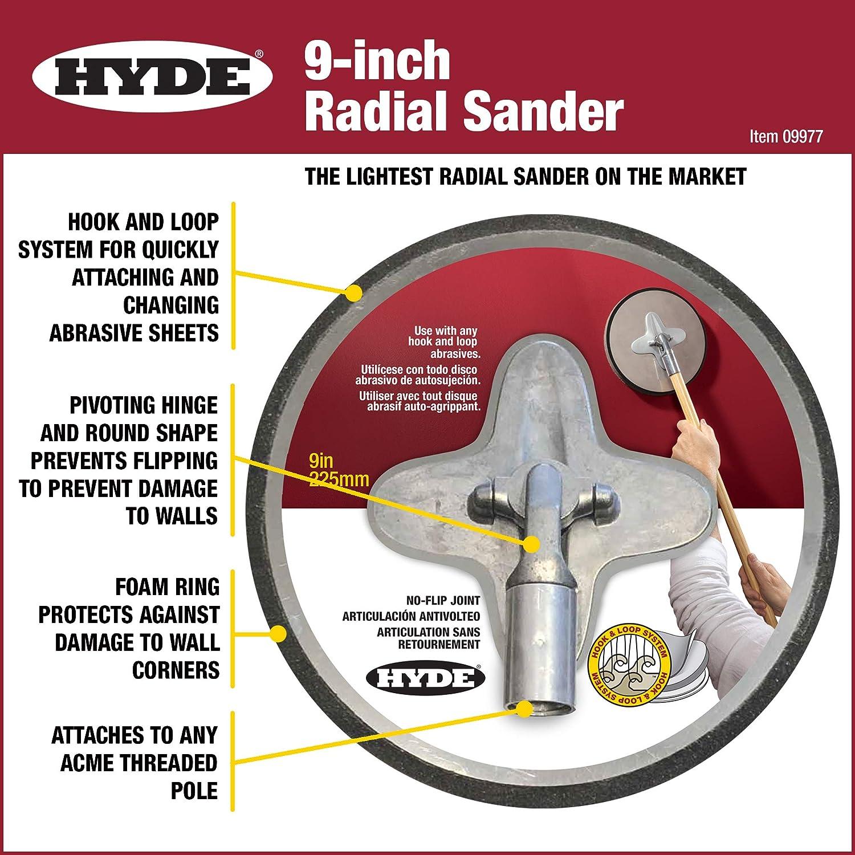 Gray Hyde 09977 Radial Sander