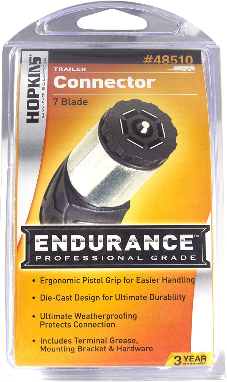 Hopkins 48510 Endurance Die-Cast 7 RV Blade Trailer End Plug