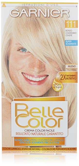 Ben noto Garnier Belle Color Colorazione Permanente, 111 Biondo Chiarissimo  HC95