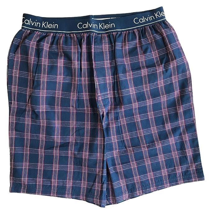 Calvin Klein - Pantalón de Pijama - para Hombre Azul Small