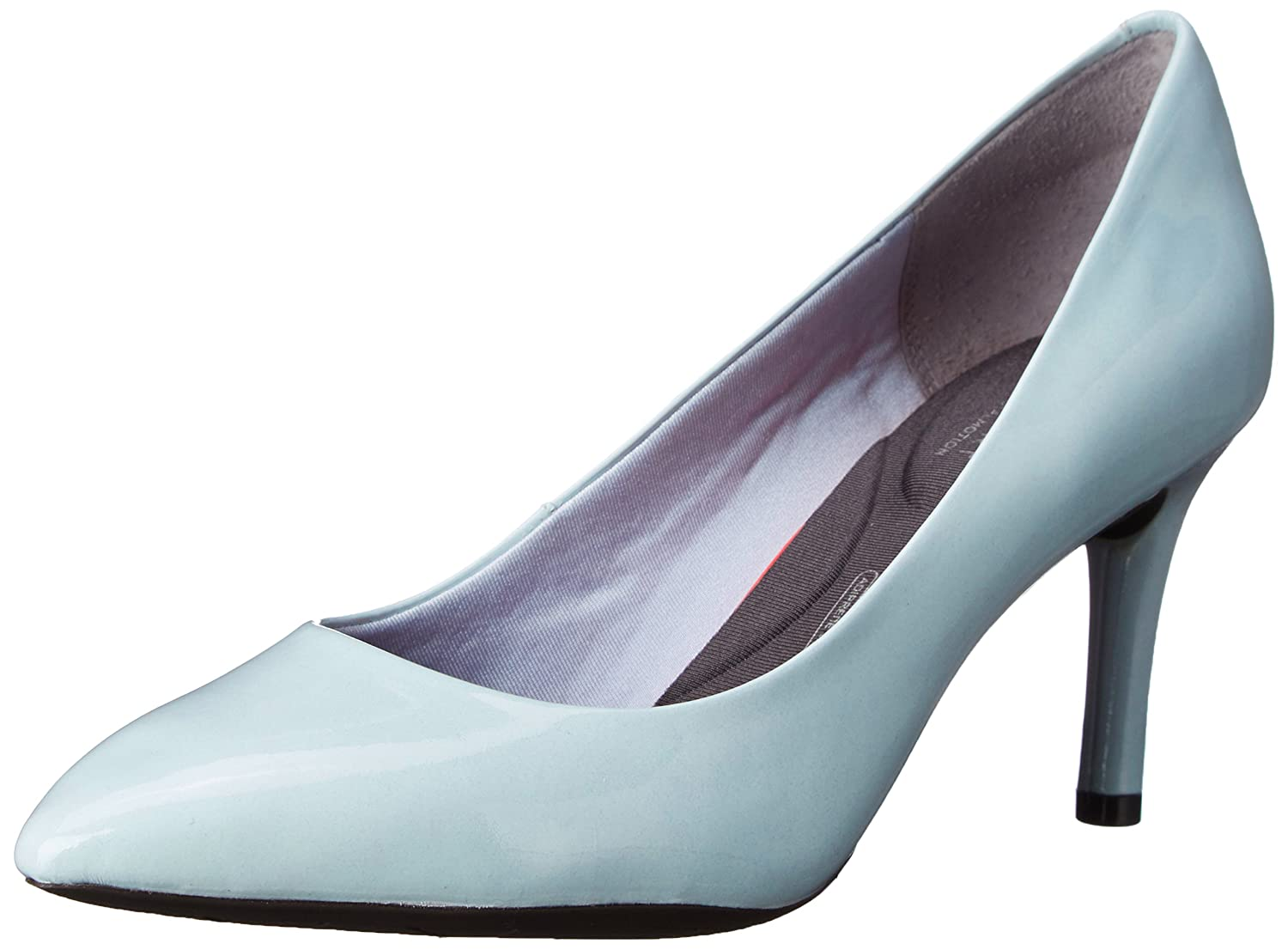 Icy bluee Patent Rockport Women's Total Motion 75mm Pointy Pump