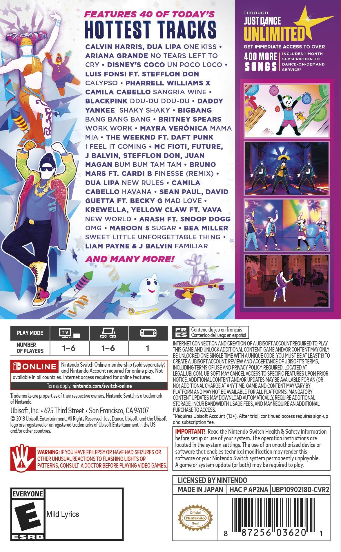Just Dance 2019 - Nintendo Switch - TiendaMIA.com d1525673674