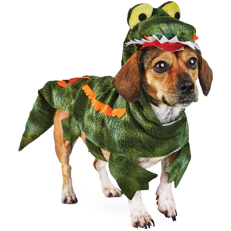 amazoncom halloween bootique alligator dog costume md medium green pet supplies