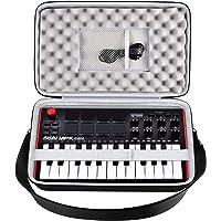 Funda para controlador MIDI compatible con AKAI Professional MPK Mini MK3/Play/MKII 25 teclas USB MIDI. Soporte de viaje…