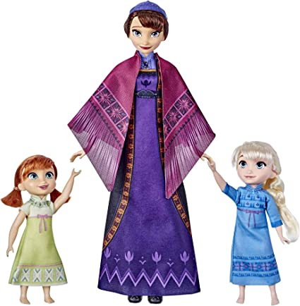 Disney Frozen 2 Queen Iduna Lullaby Set With Elsa And Anna Dolls Singing Queen Iduna Toy For Girls Inspired Ii Toys Games