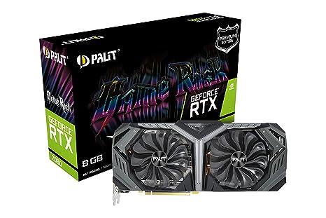 Palit Microsystems Geforce RTX 2080 Gamerock Premium 8 GB Gddr6 Tarjeta Gráfica