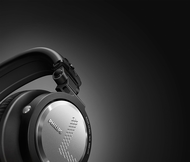 Philips A3PRO - Auriculares Tipo DJ, Plegables (circumaural ...