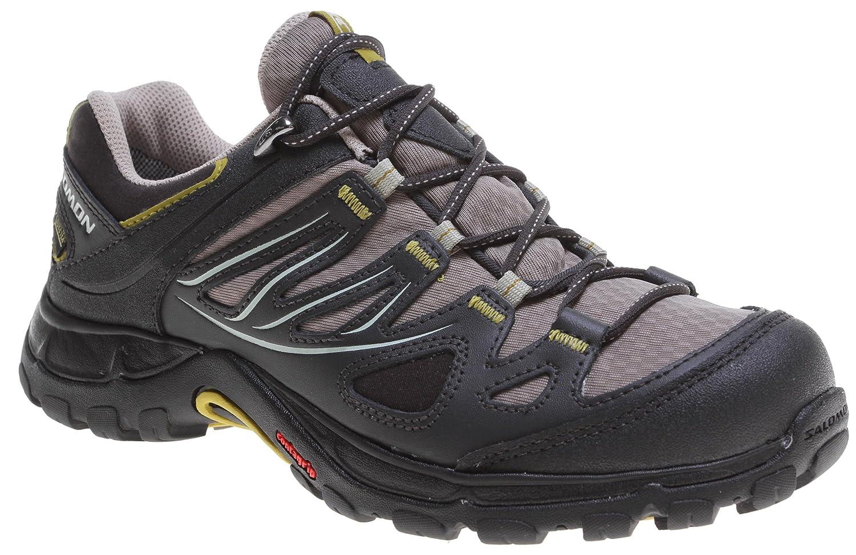 Salomon Women's Ellipse GTX Hiking Shoe, ThymeAsphaltDark