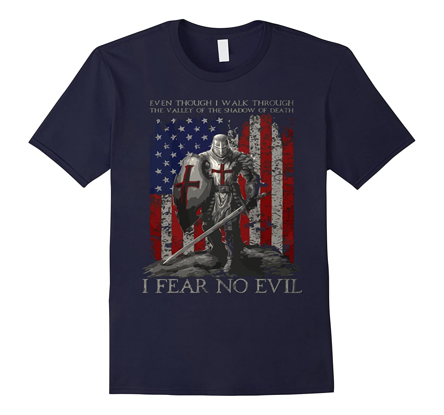 Patriotic Shirts I Fear No Evil T-Shirt-TD