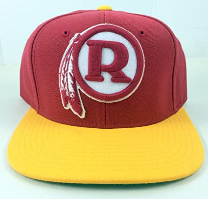 7a3c7a14dfe Image Unavailable. Image not available for. Color  Washington Redskins  Vintage Classic Retro Snapback NFL Hat