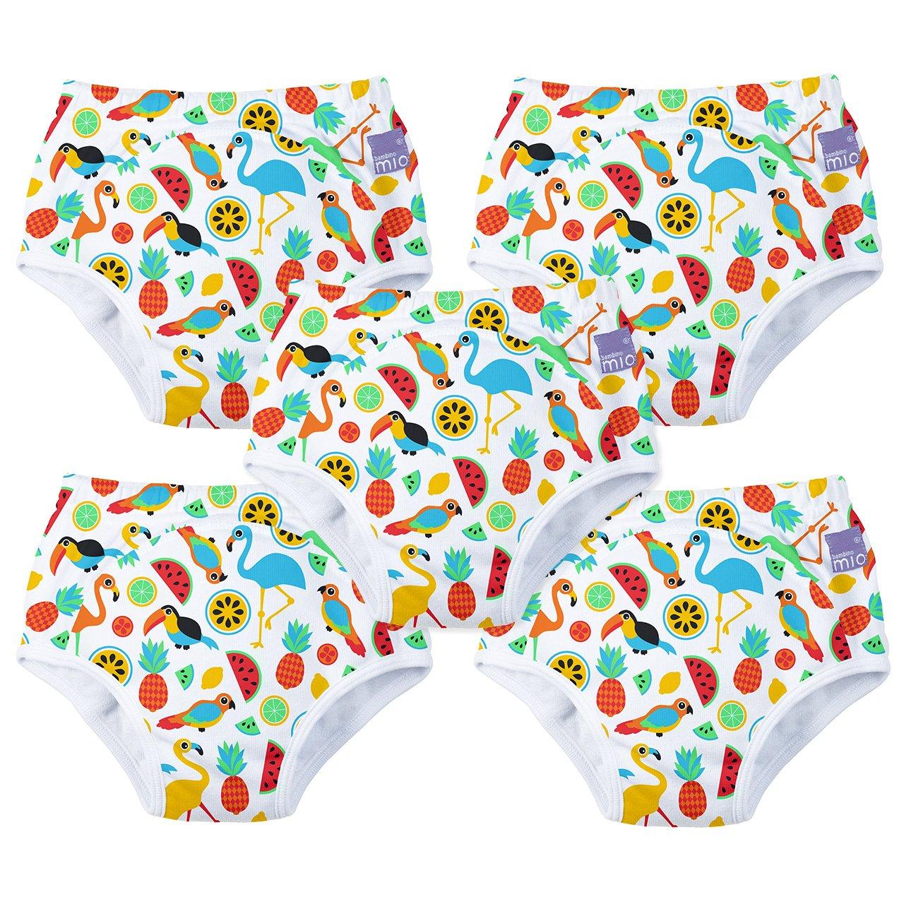5 Pack Bambino Mio 2-3 Years Potty Training Pants White