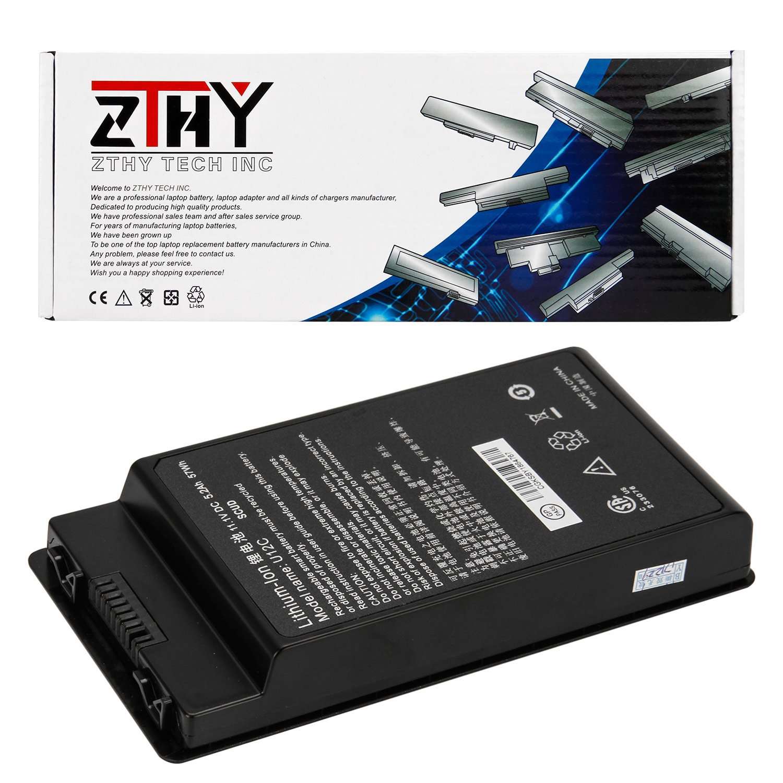 ZTHY 11.1V 5.2Ah/57wh U12C Li-ion Replacement Laptop Battery For Durabook U12C SCUD Series Notebook