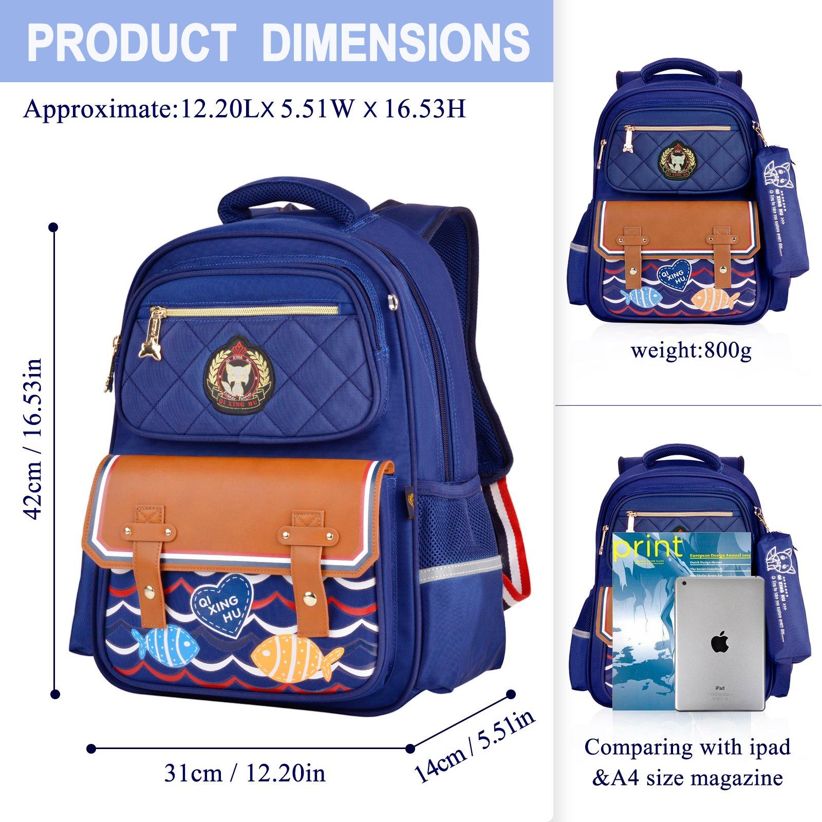 Boys Backpacks, Bageek Backpacks for School Backpack Kid School Bags for Boys Childrens Backpack by Bageek (Image #4)