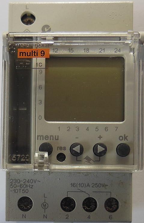 Schneider elec pbt - ccb 40 03 - Interruptor horario digital ihp semanal 3año 2,