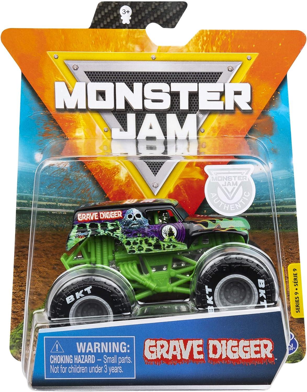 monster jam 2020 spin master 1 64 diecast monster truck with wristband legacy trucks grave digger
