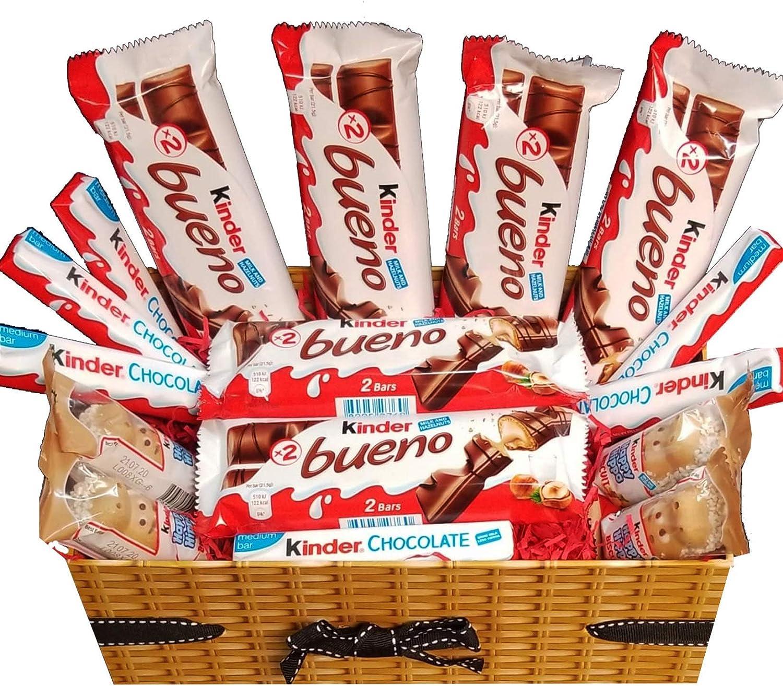Caja De Regalo De Chocolate Kinder Bueno Happy Hippo Kinder Bar ...