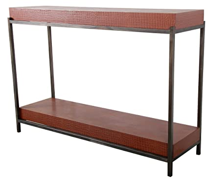 Amazon.com: Benzara BM180955 Metal Framed Console Table ...