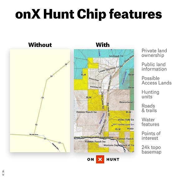 Public Hunting Land Wisconsin Map.Amazon Com Michigan Hunting Maps Onx Hunt Chip For Garmin Gps
