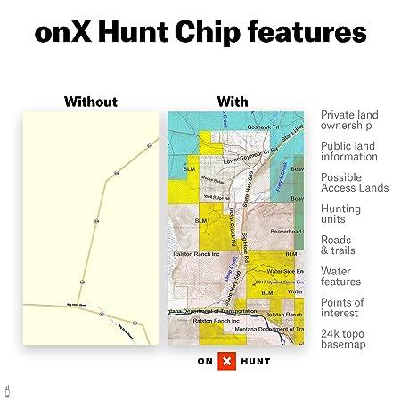 Amazon.com: Colorado Hunting Maps: onX Hunt Chip for Garmin GPS ...