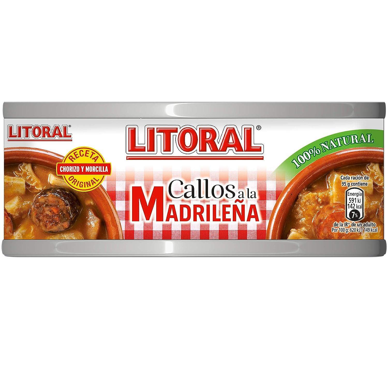 LITORAL Callos Madrileña - Plato Preparado Sin Gluten - 380g: Amazon.es: Amazon Pantry