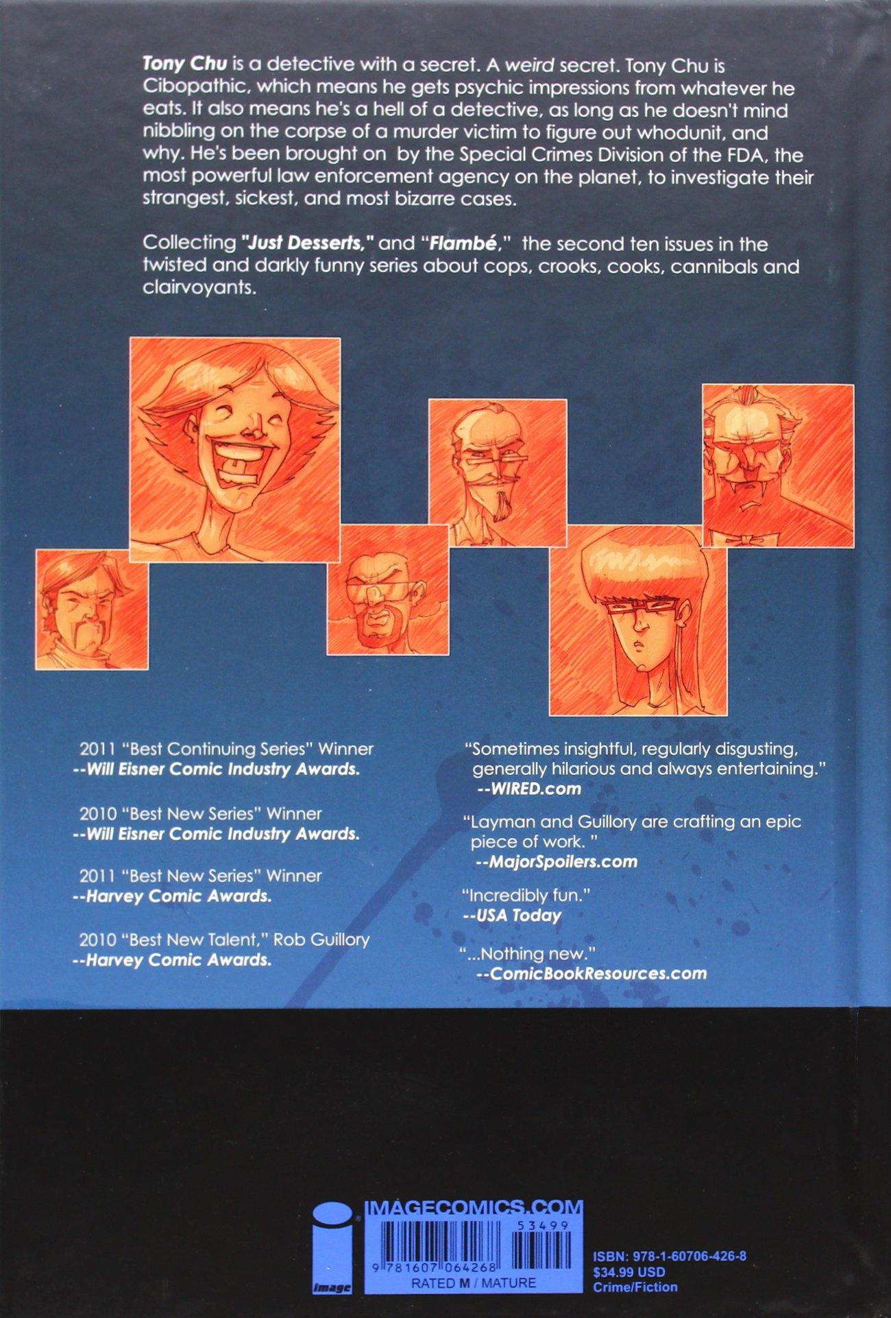 Amazon.com: CHEW Omnivore Edition, Vol. 2 (9781607064268): John Layman, Rob  Guillory: Books